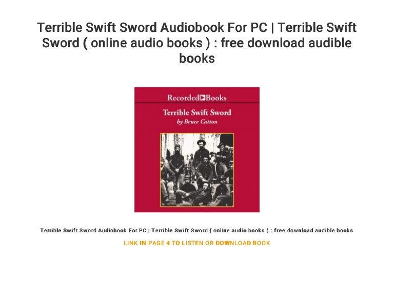 Terrible Swift Sword Audiobook For PC | Terrible Swift Sword