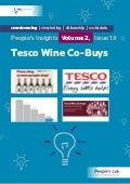 Tesco Wine Co-Buys: People's Insights Volume 2, Issue 19
