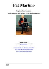 Ebook improvvisazione-jazz-pat-martino-gianpiero-bruno