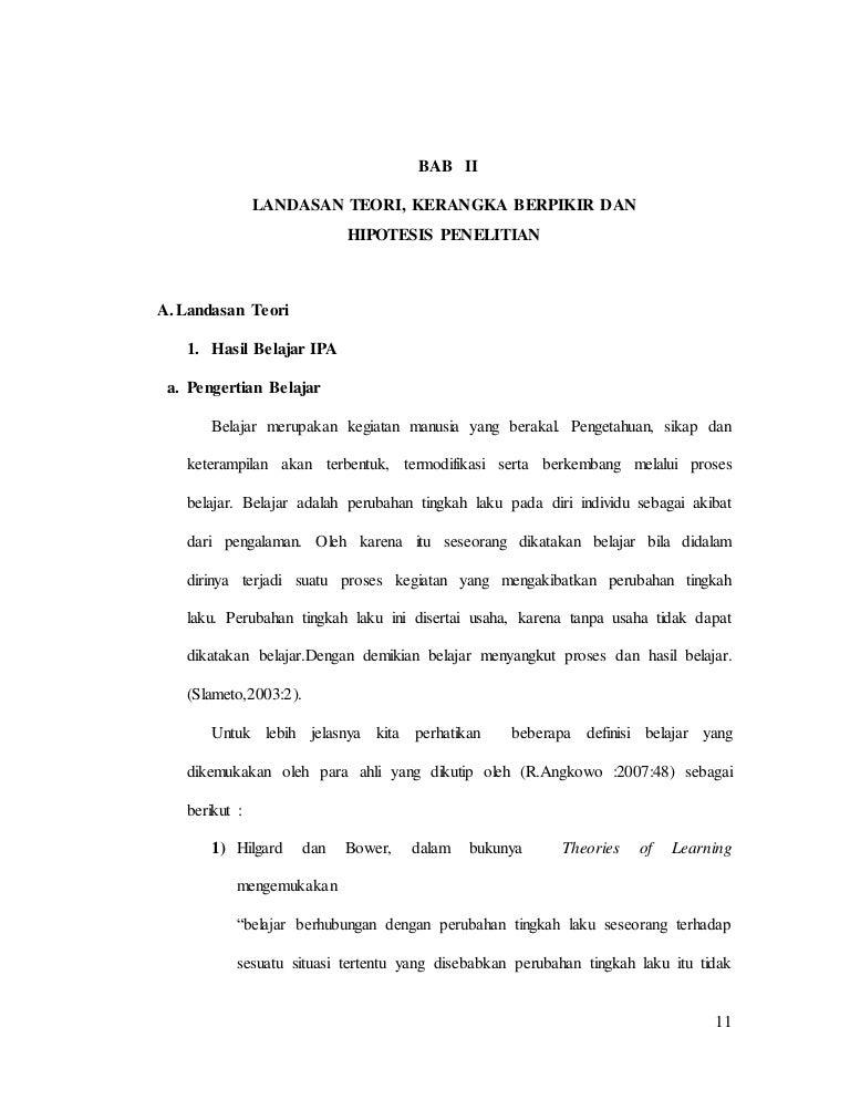 Contoh Tesis Bab 2 Contoh Soal Dan Materi Pelajaran 7