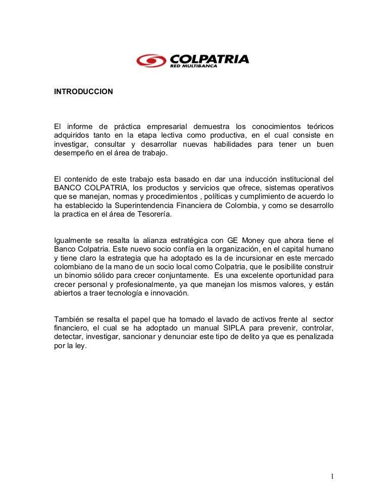 Tesis colpatria 2007 Bod solicitud de chequera