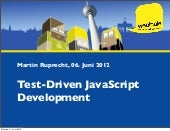 Test-Driven JavaScript Development IPC