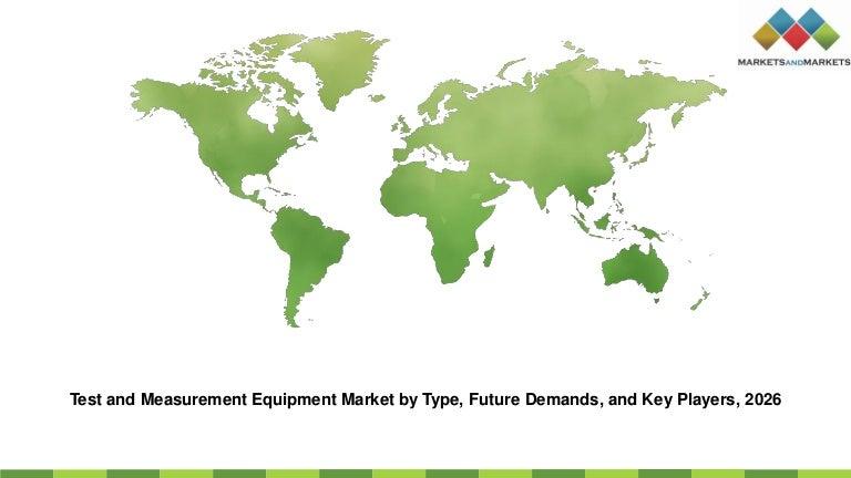Test and measurement equipment market