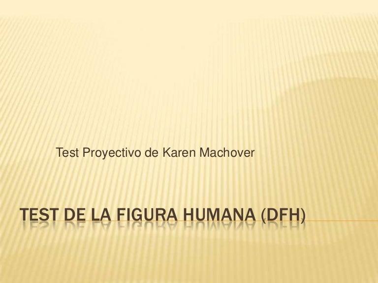 Test de la figura humana dfh