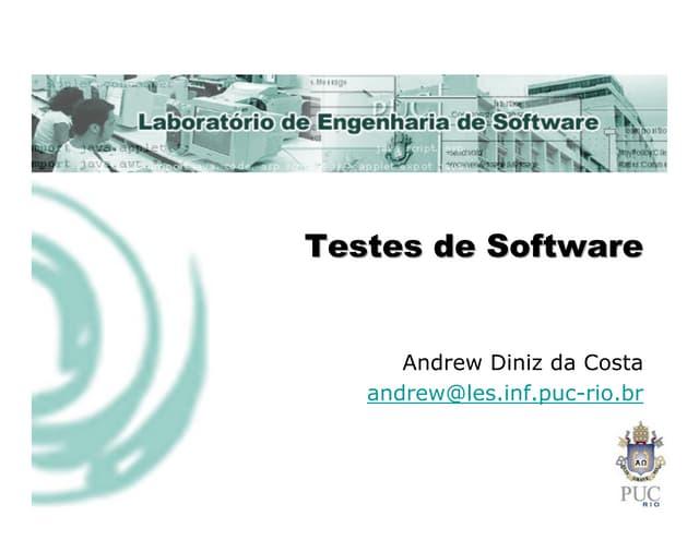 Testes, engenharia de Software, teste de Software