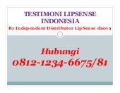 Testimoni lip sense indonesia 0812 1234 6675 by distributor dnova beauty house