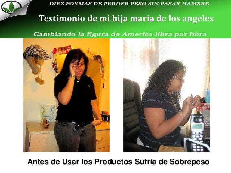 testimonios perdida de peso con herbalife