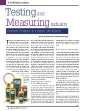 Testing Measuring and industry Current Trends & Future Prospects