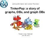 TinkerPop: a story of graphs, DBs, and graph DBs