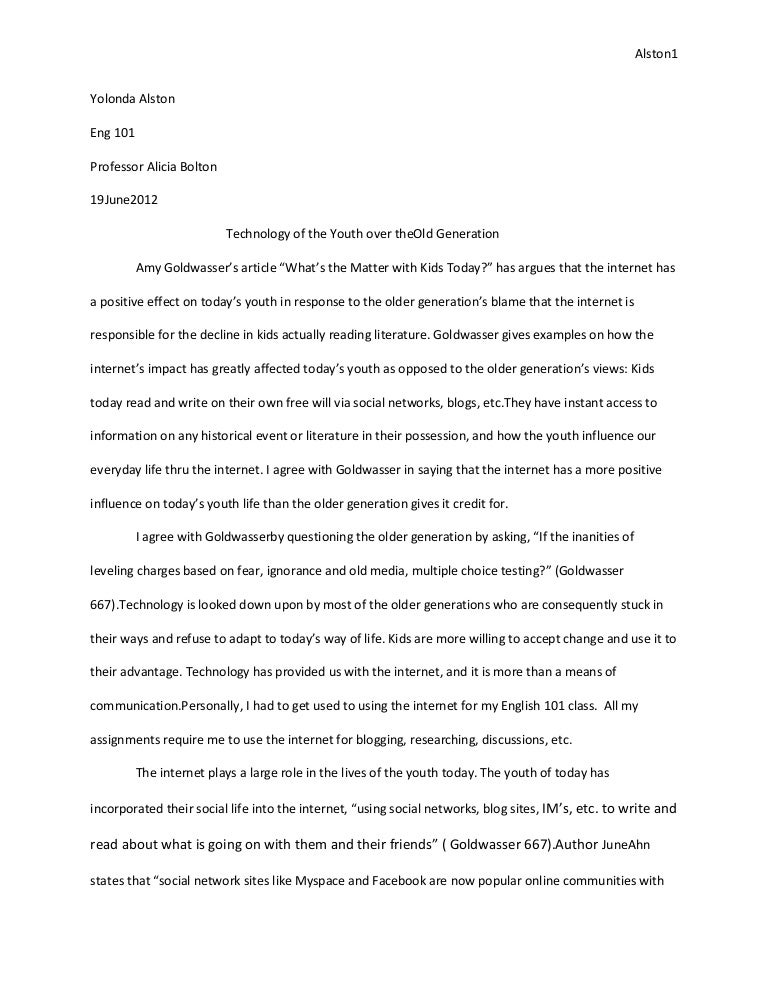 how to write analysis paper example
