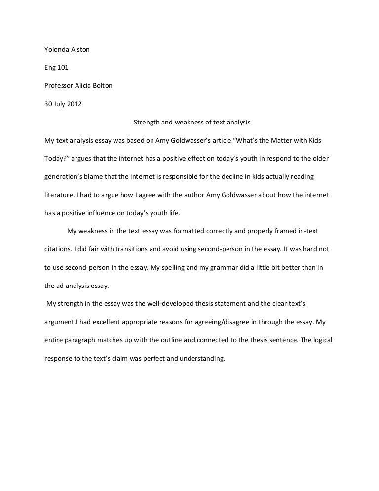 amy goldwasser essay
