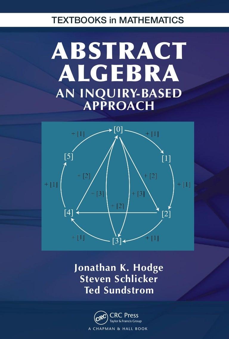 Textbooks in mathematics) hodge, jonathan k. schlicker, steven su…