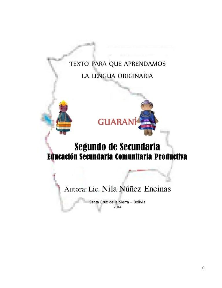 Texto Guia De Guarani 2º Sec Original1