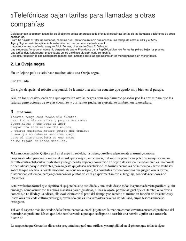 Textos Para Estructura