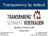 Hamburg Transparency Law