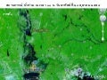 Thai flood at 11 am 23 oct 2011 by modis