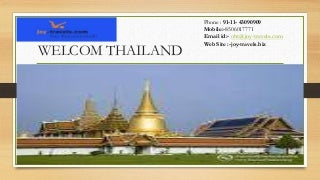 Bangkok Pattaya Romantic Honeymoon Trip - Bangkok Pattaya Honeymoon Tours - Book Bangkok Pattaya Honeymoon Package at joy-travels.biz