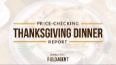 Thanksgiving Dinner Price-Check Report 2017