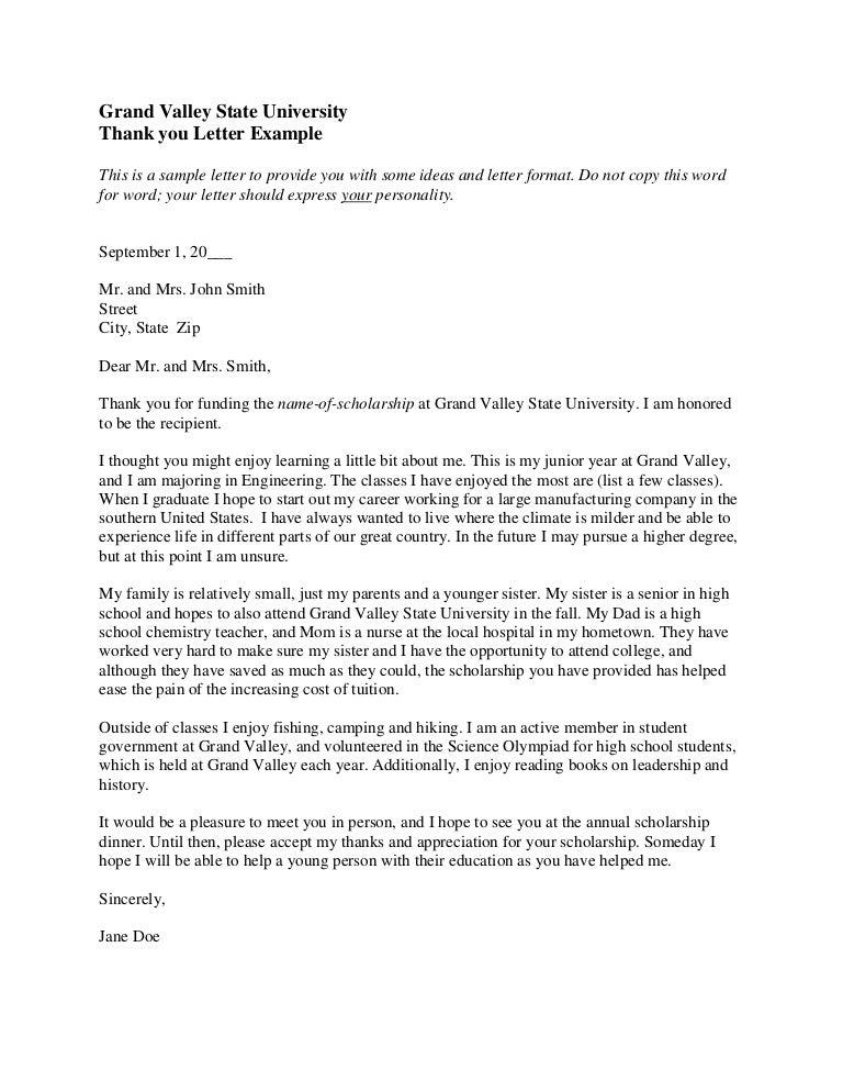 Example Thank You Letter For Scholarship from cdn.slidesharecdn.com