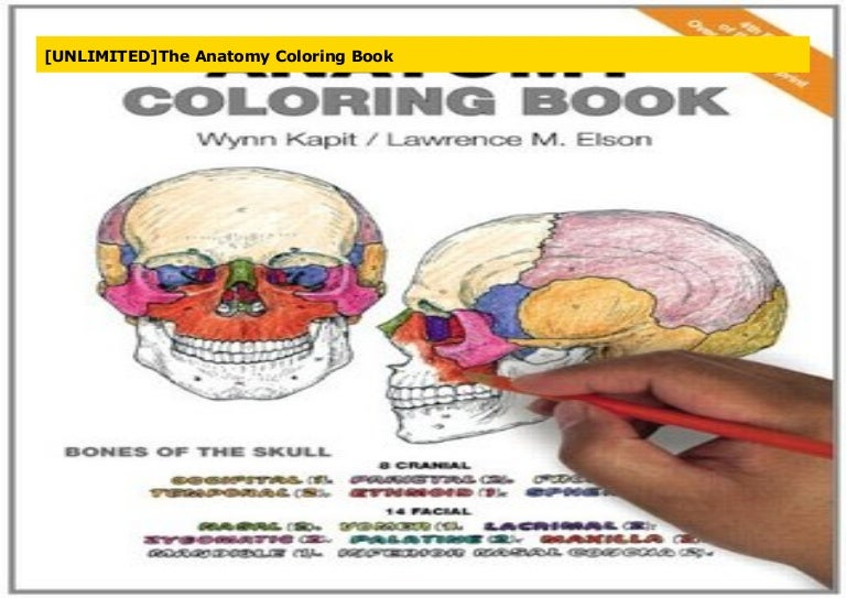 - UNLIMITED]The Anatomy Coloring Book