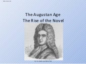 The Augustan Age The Rise Of The Novel