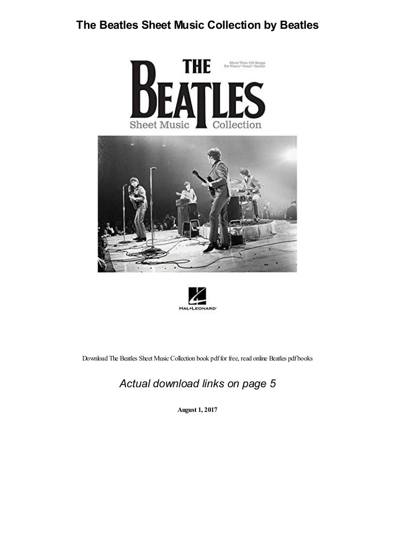 the beatles sheet music collection 210927192650 thumbnail 4