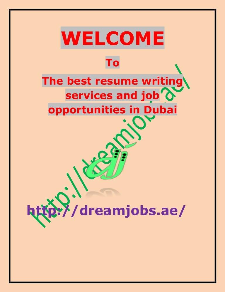 Best online resume writing services dubai
