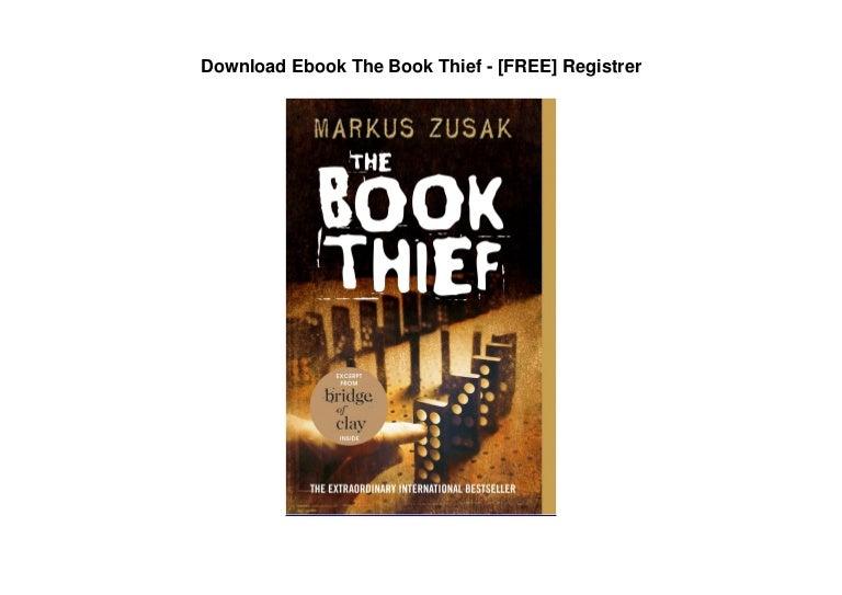 Free Download Ebook The Book Thief – [FREE] Registrer