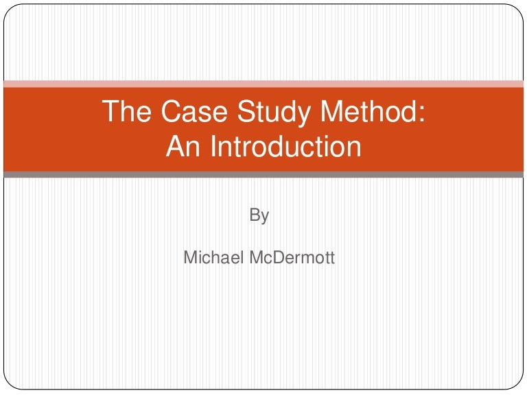 review of case study methodology Chapter 4 research methodology and design 41 introduction  (at the end of the case study) a descriptive statistical method was used to analyze the student satisfaction survey participant observation,  peer reviews, crystallisation and triangulation were suggested and later employed the chapter.