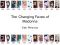 The Changing Faces of Madonna by Todd Jacobucci