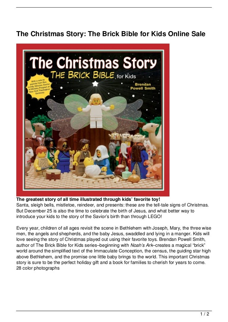 Uncategorized Christmas Stories For Kids Online the christmas story brick bible for kids online sale
