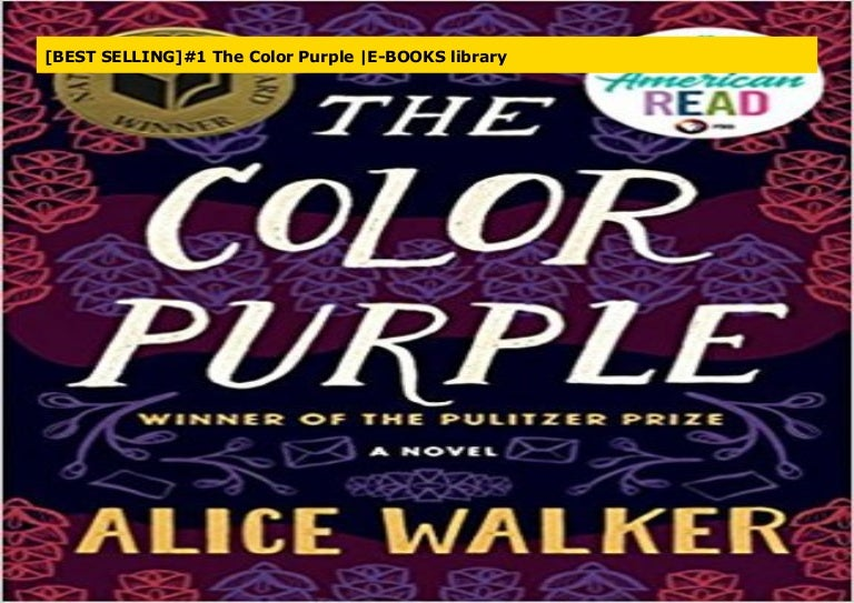 Best Selling 1 The Color Purple E Books Library
