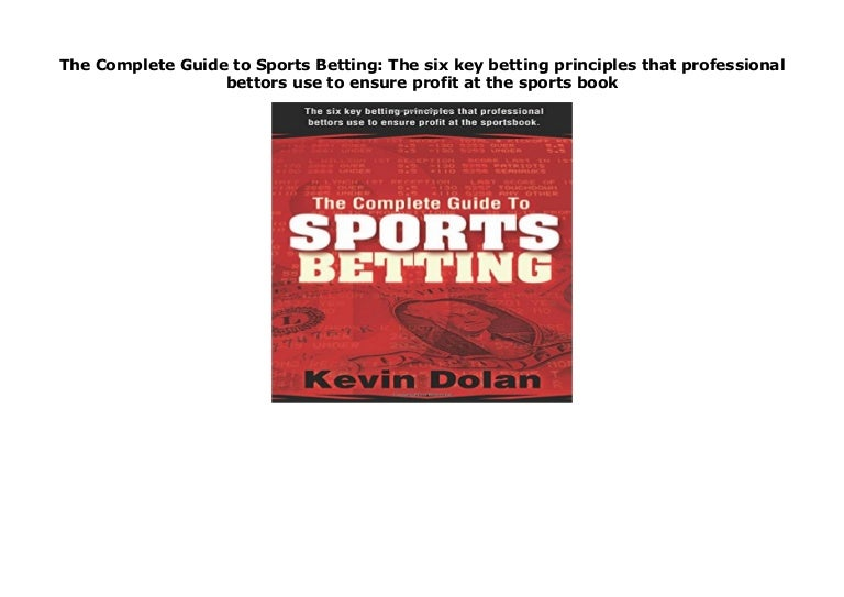 complete guide to sports betting