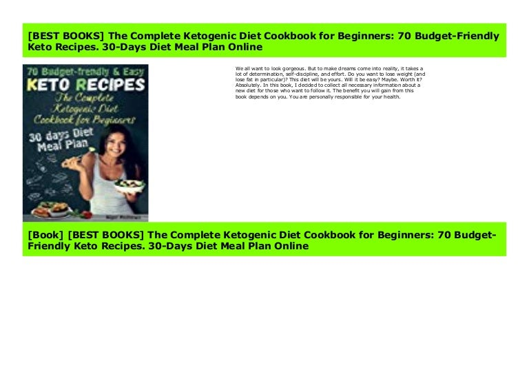 Best Books The Complete Ketogenic Diet Cookbook For Beginners 70 B
