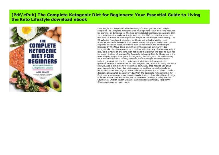 keto complete ketogenic diet pdf