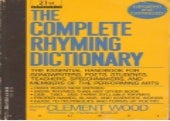 (*EPUB)->Read The Complete Rhyming Dictionary By Clement Wood Online Free