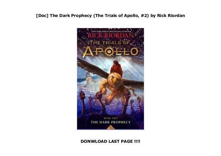 Read The Dark Prophecy The Trials Of Apollo 2 By Rick Riordan