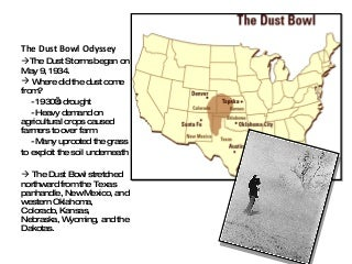 The Dust Bowl Odyssey Ppt