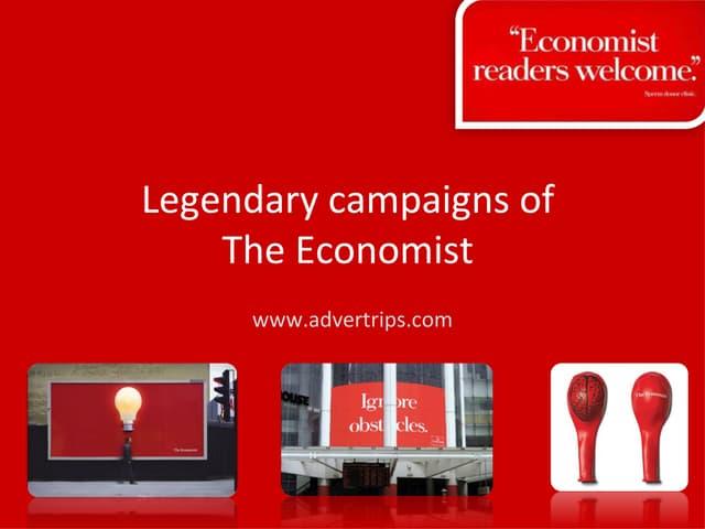 The Economist Creative Advertising