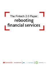 Fintech 2.0 - Rebooting Financial Services - Blockchain Clearing