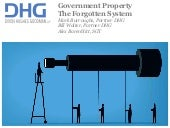 Government Property Management -- the Forgotten System
