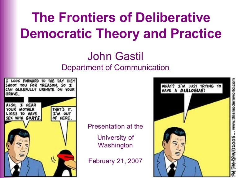 deliberative essay Deliberative rhetoric concerns contingencies within human control the deliberative orator addresses topics such as war and peace, national defense, trade, and legislation, in order to assess what is harmful and beneficial.