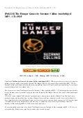 hunger games novamov