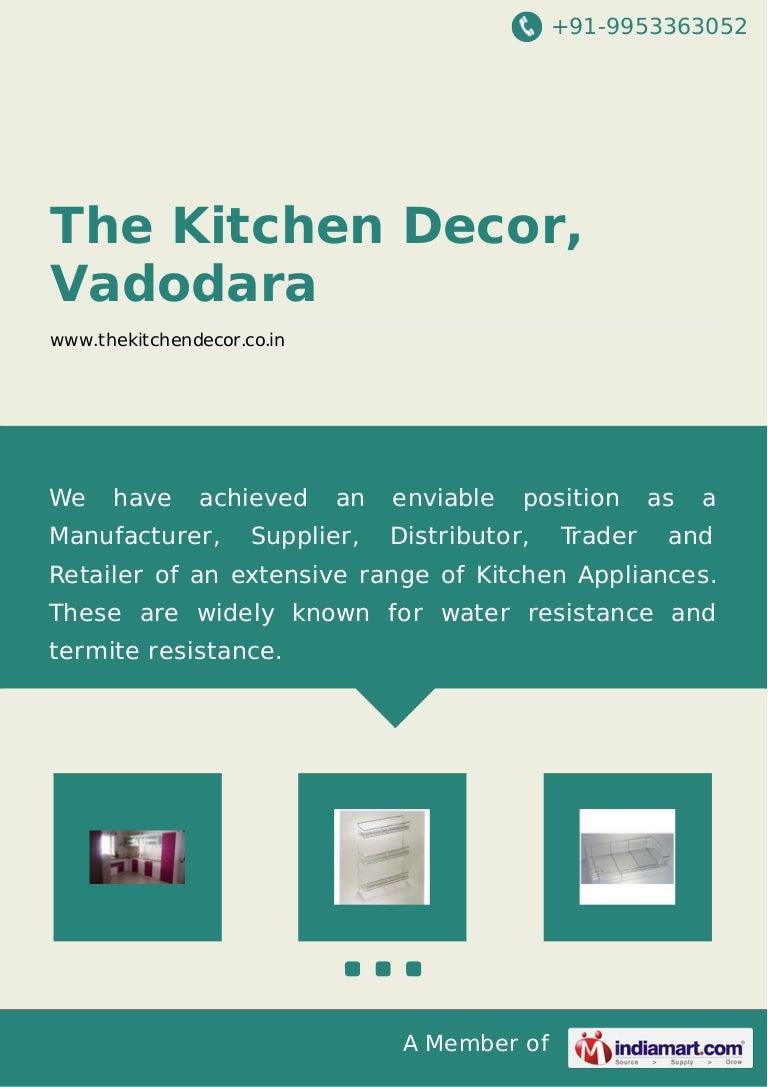 The kitchen-decor-vadodara