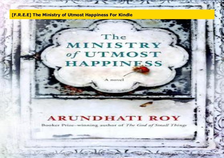 the ministry of utmost happiness free epub