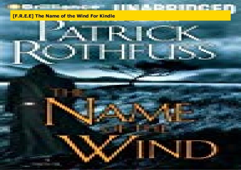 the name of the wind kindle free
