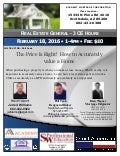 The price is right!  how to accurately value a home feb 18th