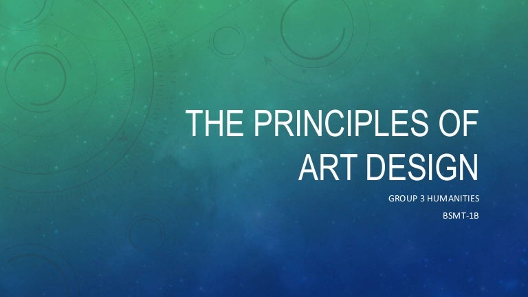 Art Principles Of Design Unity And Variation