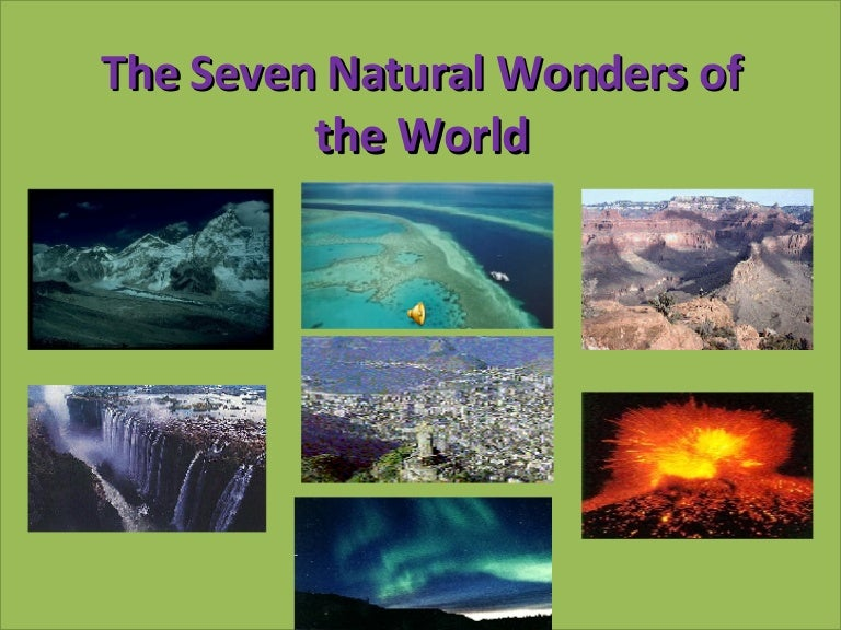 Natural Wonders Of The World 4