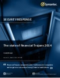 The state of financial Trojans 2014